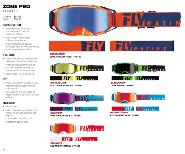 2019-FLY Racing -MTB googles