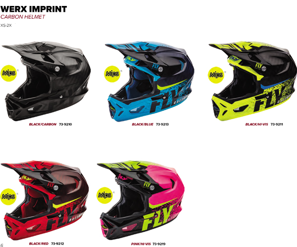 CASCOS/ Helmet WERX IMPRINT Fly Racing