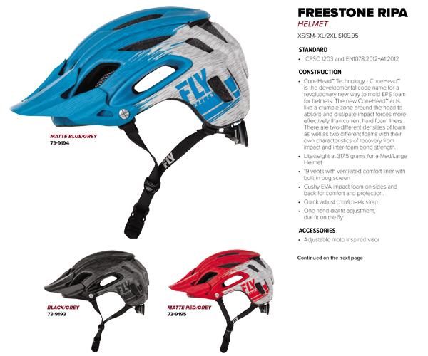 Casco-Helmet Enduro MTB Freestone RIPA