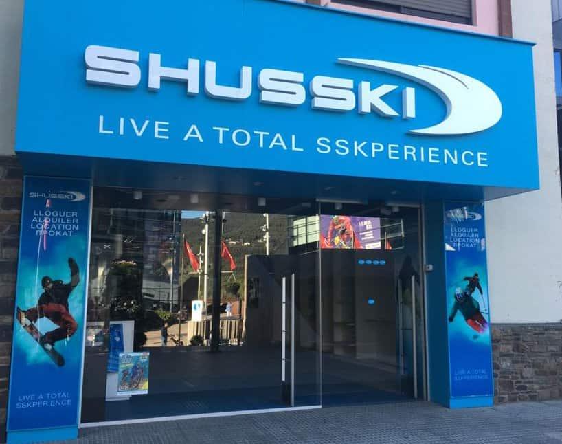 Comercios tiendas alquiler andorra esqui snow